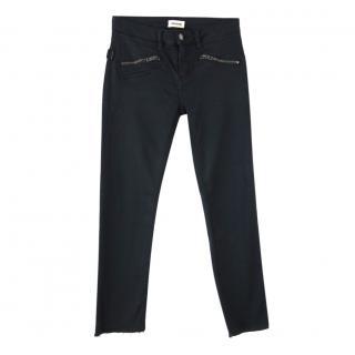 Zadig & Voltaire Black Slim Cut Jeans