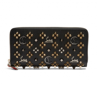 Christian Louboutin Panettone Embellished Zip-around Wallet