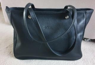 Longchamp Black Le Foulonne Tote Bag