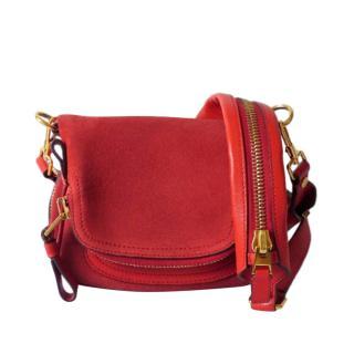 Tom Ford Suede Jennifer Mini Crossbody Bag
