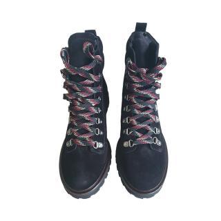 Ba&Sh Black Suede Colorado Boots
