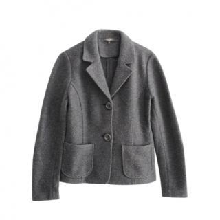 Weekend Max Mara Grey Wool Blazer