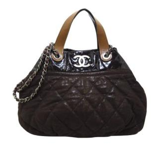 Chanel Classic In the Mix Lambskin Leather Satchel
