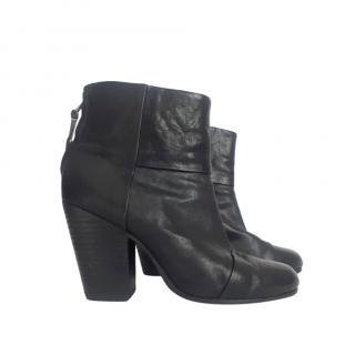 Rag & Bone Black Newbury Ankle boots