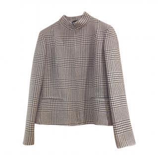 Max Mara Virgin Wool & Cashmere Zip Top