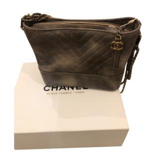 Chanel Grey Limited Edition Gabrielle Bag