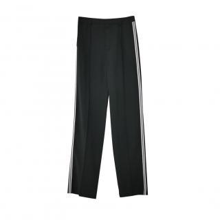 Chloe Black Contrast Side Stripe Pants
