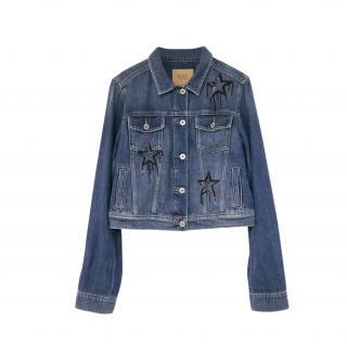 Paige Sequin Embellished Vivienne Denim Jacket