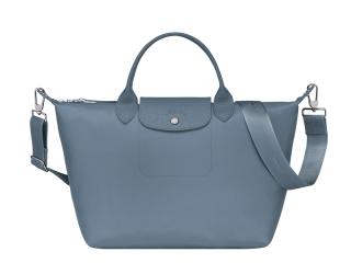 Longchamp Blue Le Pliage Neo Bag