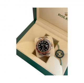 Rolex 40mm Root Beer GMT Master II Watch