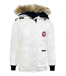 Canada goose White Expedition Parka
