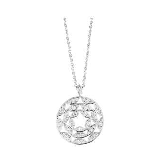 Jan Logan Fine Diamond Cienega 18ct White Palladium Gold Necklace
