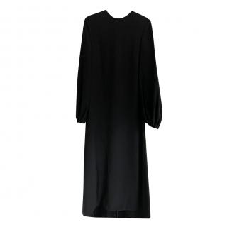 Rochas Black Fishtail Gown