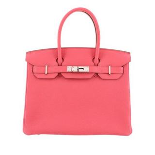 Hermes Pink Togo Leather Birkin 30 PHW