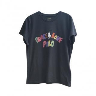 Polo Ralph Lauaren Peace & Love T-Shirt