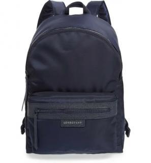 Longchamp Blue Le Pliage Neo Backpack