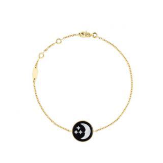 DIOR Rose Celeste 18kt Yellow Gold Bracelet