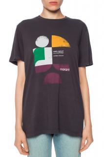Isabel Marant Etoile Faded Black T-shirt