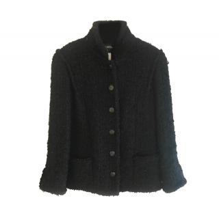 Chanel 2015 little black jacket in tweed