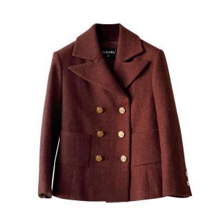 Chanel Paris/Hamburg Collection CC Buttons jacket/coat