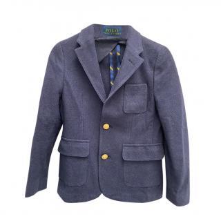 Polo Ralph Lauren Blue Kids 7Y Tailored Blazer