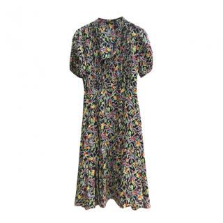 Polo Ralph Lauren Floral Print Tea Dress