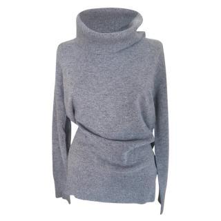 Max Mara Virgin Wool & Cashmere Grey Jumper
