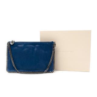 Stella McCartney Falabella Navy Faux Leather Clutch