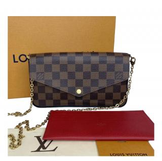 Louis Vuitton Damier Ebene Felice GM Shoulder Bag