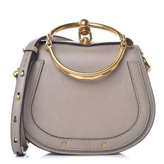 Chloe Motty Grey Nile Bracelet Miniaudiere Bag