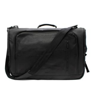Dunhill Black Tri-fold Suit Carrier with Laptop Case