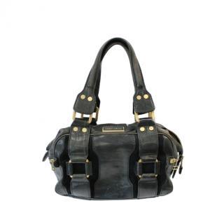 Jimmy Choo Double Zip Malena Leather Handbag