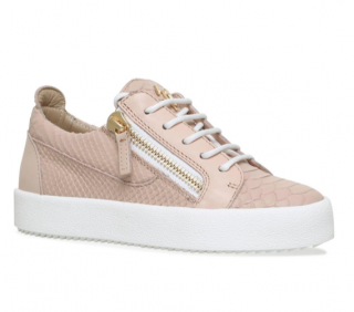 Giuseppe Zanotti Rose Faux Snakeskin May Sneakers
