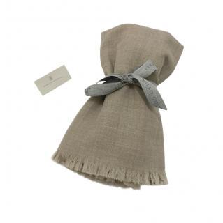 Brunello Cucinelli Cashmere Knit 170 cm x 60 cm Scarf