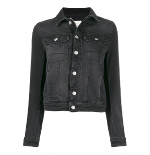 Zadig & Voltaire Black Kioky Denim Jacket