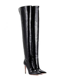 Gianvito Rossi Rennes OTK Patent 105mm Boots