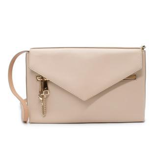 Chloe Cassie Powder Pink Soft & Grained Leather Envelope Shoulder Bag