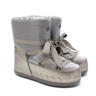 Bogner Trois Vallees Lace-Up Faux Fur-Lined Snow Boots