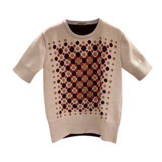 Bottega Veneta Resort Silk & Wool Knit Top