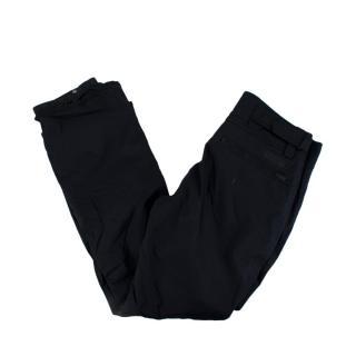 Burberry Black Sport Ski Trousers