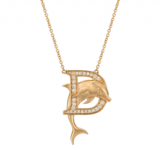 Stephen Webster D is For Dolphin Pendant Necklace