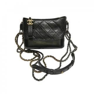 Chanel Small Black Leather Small Gabrielle bag