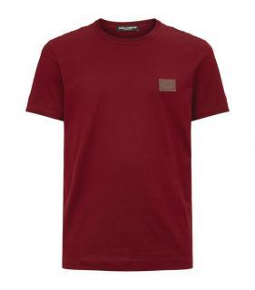 Dolce & Gabbana Logo Plaque T-Shirt