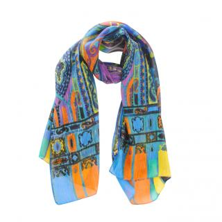 Etro Multicoloued Paisley print Scarf