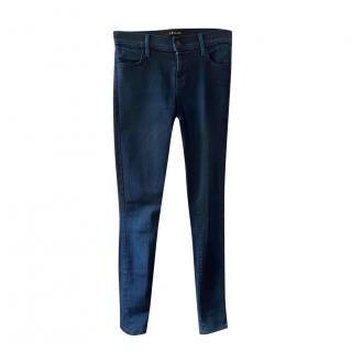 J Brand indigo super skinny jeans