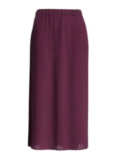 Eileen Fisher Pleated Recycled Poly Raisonette Skirt