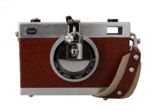Dolce & Gabbana Caimain Crocodile Camera Bag