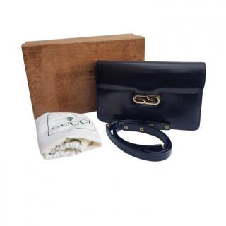 Gucci Blue 70's Vintage Shoulder Bag