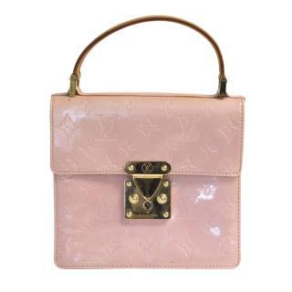 Louis Vuitton vernis pink Spring Street clutch