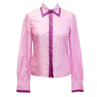 Matthew Williamson Pink Silk Shirt